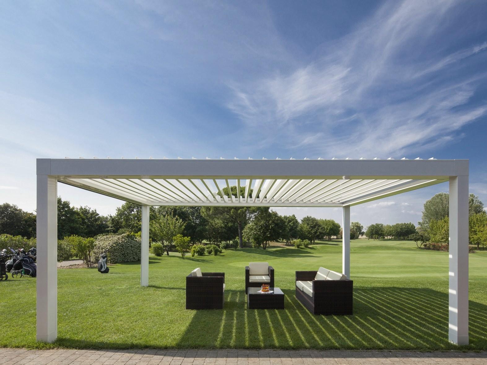 Gazebo Con Lamelle Orientabili gazebo da esterno per giardini o terrazze – naturalwood bologna